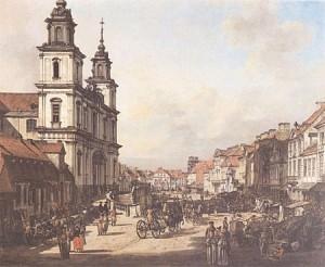 Canaletto_Krakowskie_Przedmieście